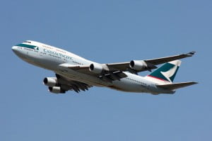 Boeing 747 Cathay Pacific © Lasse Fuss