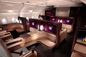 1ere Qatar Airways © Qatar Airways