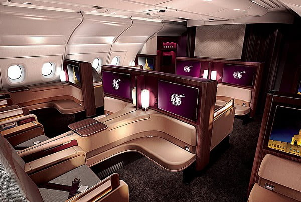 La première Qatar Airways