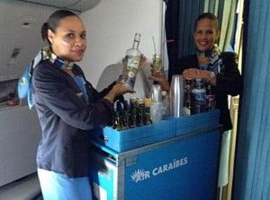 Hôtesse de l'air © Air Caraibes