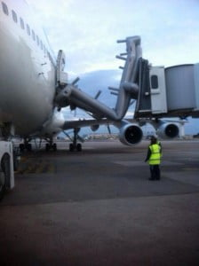 Toboggan Boeing 747 Corsair à Orly © PNC Contact