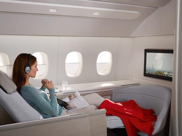 Air France, nouvelles cabines vers Dubaï