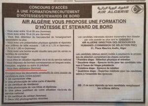 Air Algérie © DR