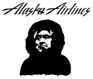 Alaska Airlines logo © Alaska Airlines