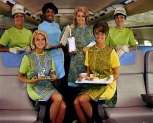 hotesse de l'air delta airlines