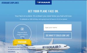Concours Ryanair © Ryanair