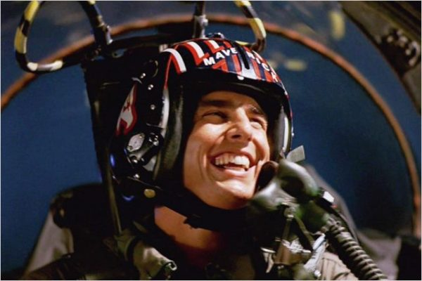 Top Gun take-off on Southwest Airlines