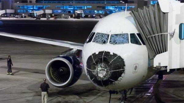Airbus A320 et orage !