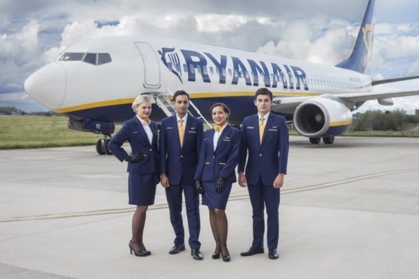 Ryanair, profit warning