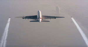 "Emirates et ""Jetman"" © Emirates"