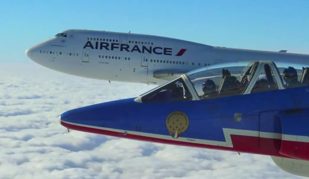 Air France, le Boeing 747 et la PAF