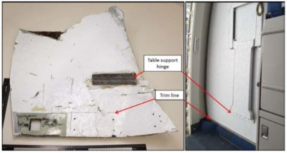 On a identifié des débris du vol MH370