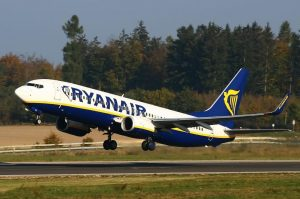 Un Boeing 737 de la compagnie Ryanair