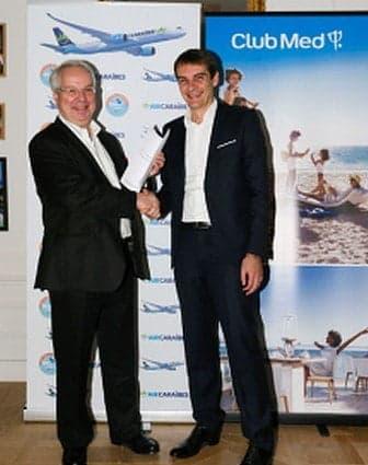 Air Caraïbes signe avec Club Med