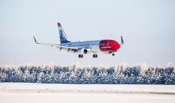 Norwegian Air Shuttle dans le rouge