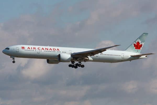 Turbulences et blessures chez Air Canada