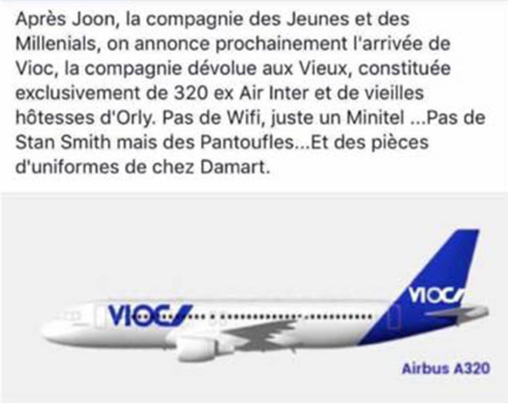 Air France, une nouvelle compagnie