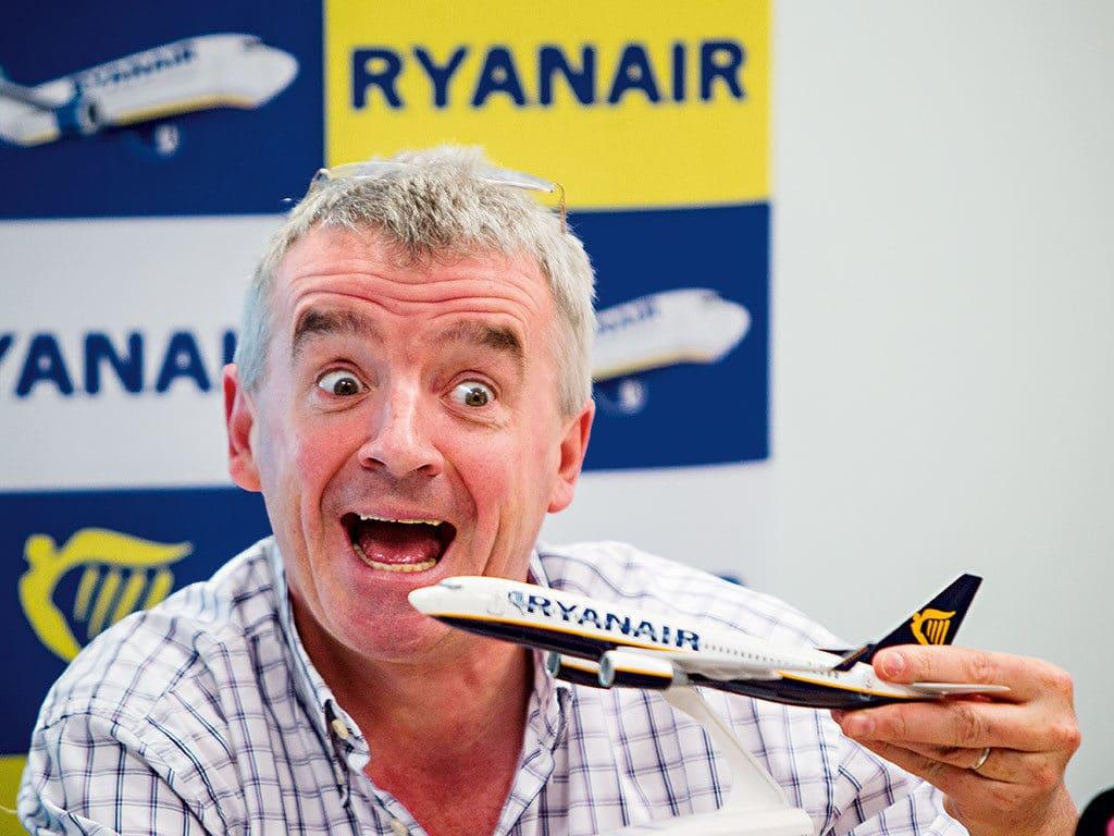 Ryanair en octobre 2017