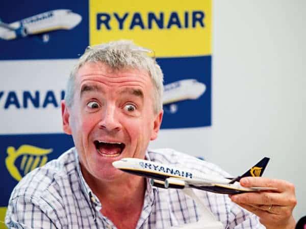 Ryanair premiere place