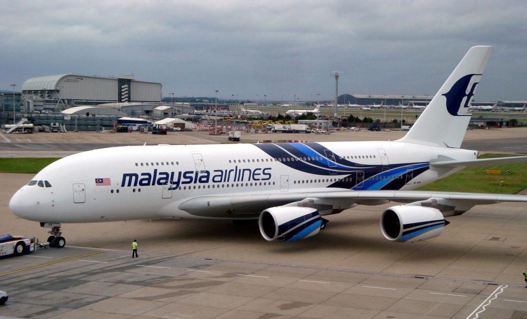 Un Airbus A380 perd une roue