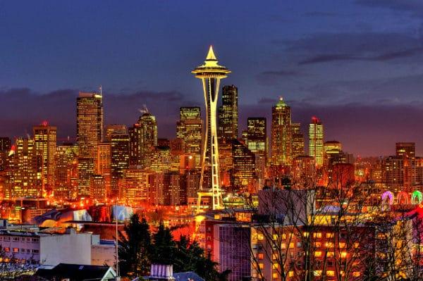 Air France à Seattle