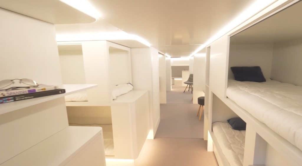 Air France va proposer des couchettes !
