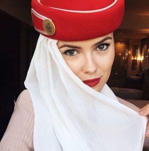 Hotesse de l'air Emirates