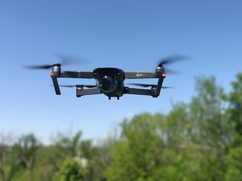 Drone en action