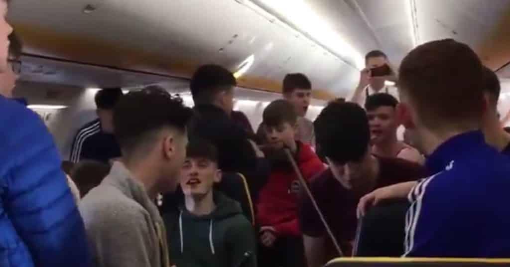 Ryanair vole en musique