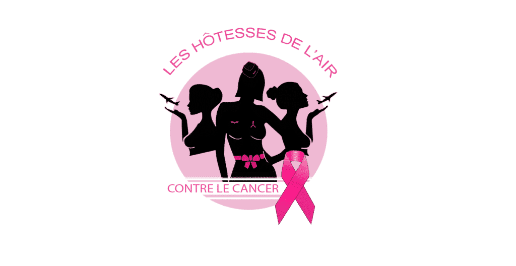 Hotesse de l'air contre le cancer