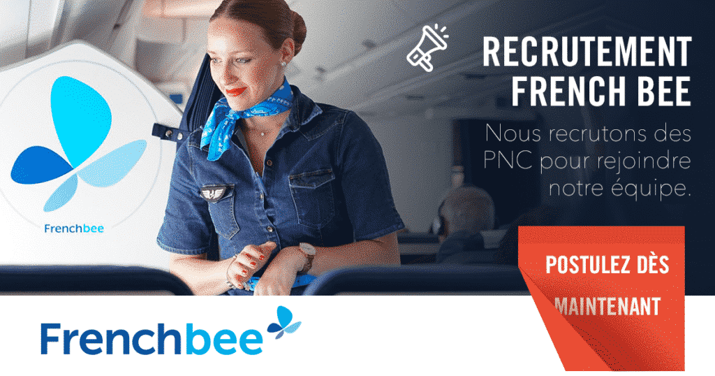 French bee recrute des PNC