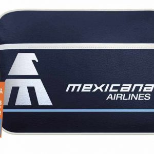 Mexicana Airlines Flight Retro Bag