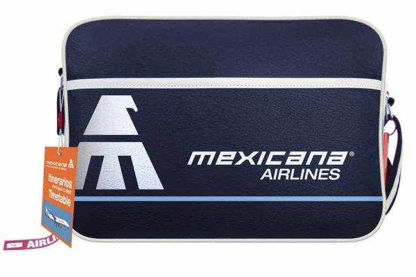 Mexicana Airlines Flight Retro Bag