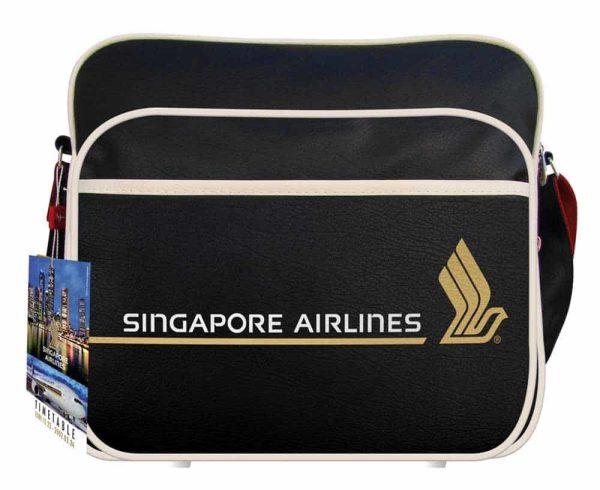 Singapore Airlines Flight Travel Bag