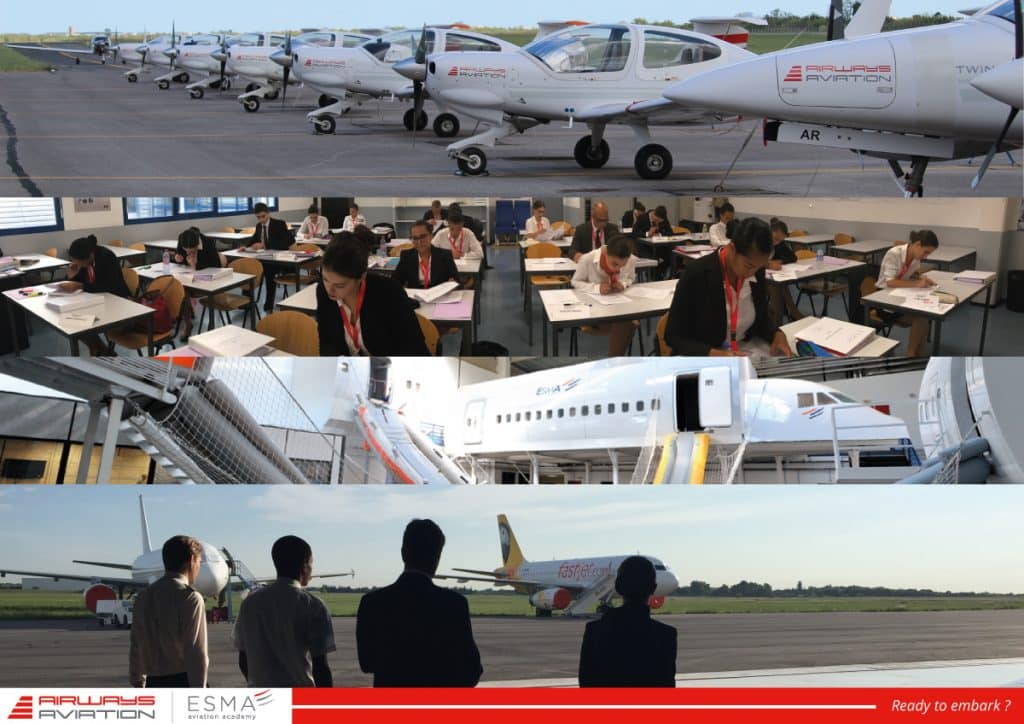 AIRWAYS AVIATION ACADEMY – ESMA MONTPELLIER : L'activité n'a jamais cessé !